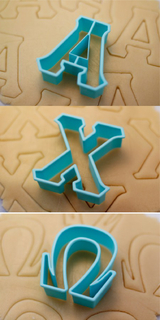 Alpha Chi Omega Cookie Cutters
