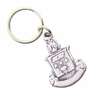 Alpha Chi Omega Crest - Shield Keyring