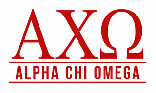Alpha Chi Omega Custom Sticker - Personalized