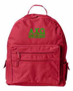 Alpha Chi Omega Custom Text Backpack