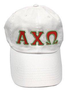Alpha Chi Omega Double Greek Letter Cap