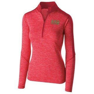 Alpha Chi Omega Electrify 1/2 Zip Pullover