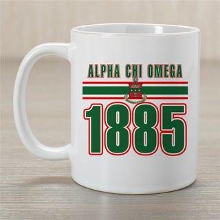 Alpha Chi Omega Established Year Coffee Mug - Personalized!