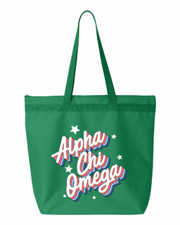 Alpha Chi Omega Flashback Tote bag