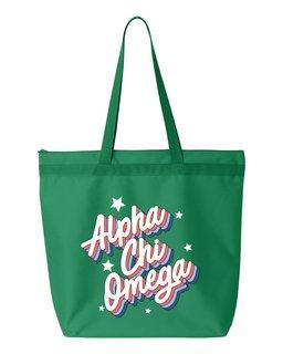 Alpha Chi Omega Flashback Tote bag