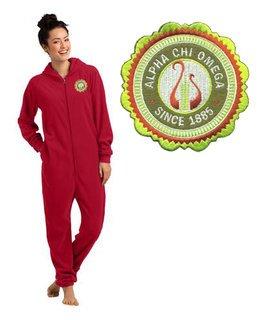 Alpha Chi Omega Fleece Lounger