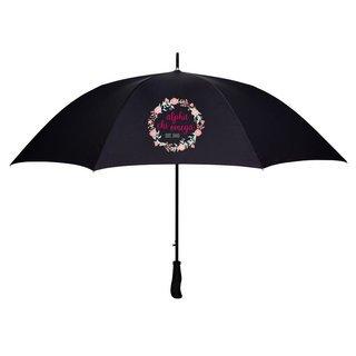 Alpha Chi Omega Floral Umbrella