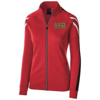 Alpha Chi Omega Flux Track Jacket