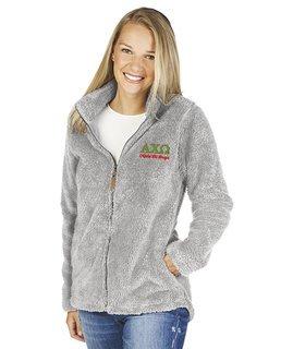 Alpha Chi Omega Newport Full Zip Fleece Jacket