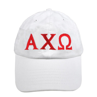 Alpha Chi Omega Greek Letter Hat