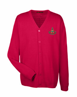 Alpha Chi Omega Greek Letterman Cardigan Sweater