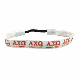 Alpha Chi Omega Head Wrap Mini