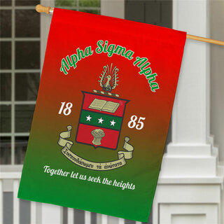 Alpha Chi Omega House Flag