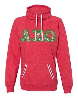 Alpha Chi Omega J. America Relay Cowlneck Sweatshirt