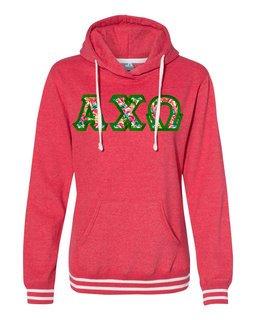 Alpha Chi Omega J. America Relay Hooded Sweatshirt