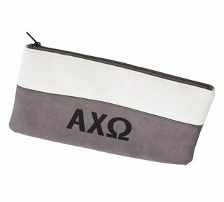 Alpha Chi Omega Letters Cosmetic Bag
