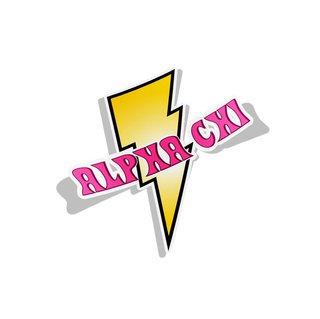 Alpha Chi Omega Lightning Bolt Decal
