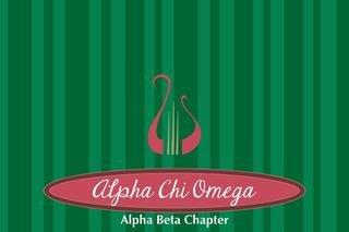 Alpha Chi Omega Mascot Tablecloth