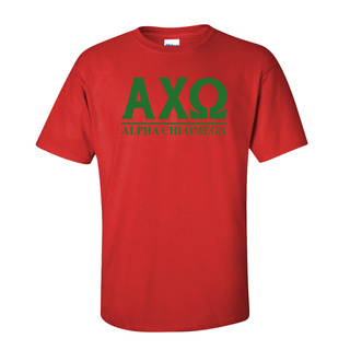 Alpha Chi Omega Message T-Shirts