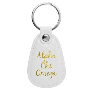 Alpha Chi Omega Retro Key Chain