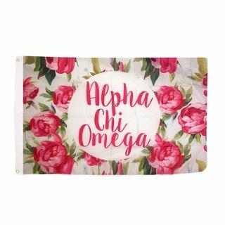Alpha Chi Omega Rose Flag