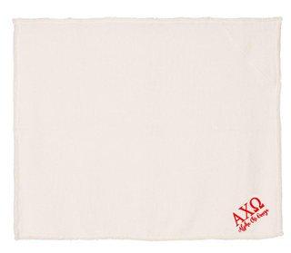 Alpha Chi Omega Sherpa Blanket