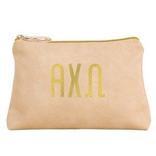 Alpha Chi Omega Sorority Cosmetic Bag
