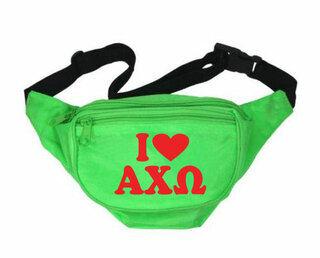 Alpha Chi Omega Sorority Fanny Pack