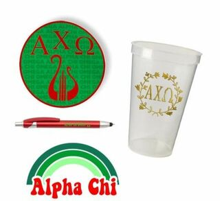 Alpha Chi Omega Sorority For Starters Collection $9.99