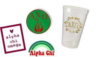 Alpha Chi Omega Sorority Large Pack $15.00