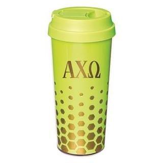 Alpha Chi Omega Sparkle Coffee Tumblers