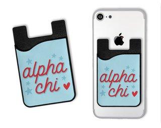 Alpha Chi Omega Star Card Caddy