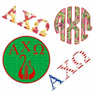 Alpha Chi Omega Sticker Grab Bag