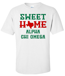 Alpha Chi Omega Sweet Home Tee
