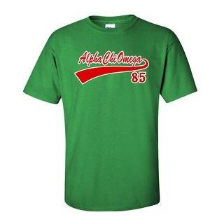 Alpha Chi Omega Tail T-Shirts
