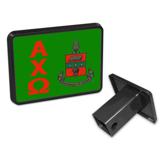 Alpha Chi Omega Trailer Hitch Covers