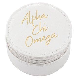 Alpha Chi Omega Travel Round Case