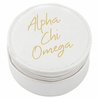 Alpha Chi Omega Travel Round Case