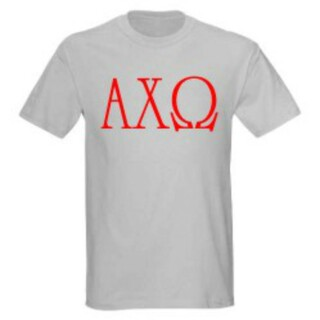 Alpha Chi Omega University Greek T-Shirts