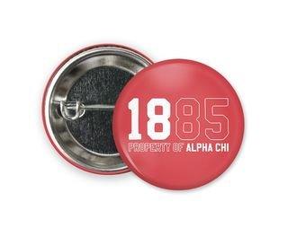 Alpha Chi Omega Year Button