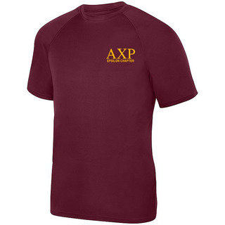 Alpha Chi Rho- $19.95 World Famous Dry Fit Wicking Tee