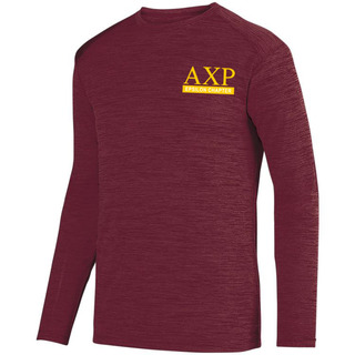 Alpha Chi Rho- $20 World Famous Dry Fit Tonal Long Sleeve Tee