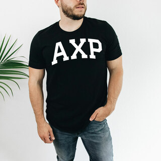 Alpha Chi Rho Arched Greek Letter T-Shirt