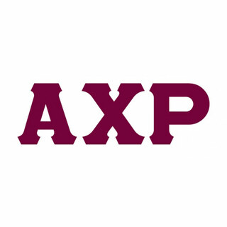 Alpha Chi Rho Big Greek Letter Window Sticker Decal
