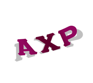 Alpha Chi Rho Big Greek Letter Window Sticker Decal