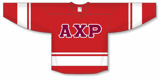 DISCOUNT-Alpha Chi Rho Breakaway Lettered Hockey Jersey