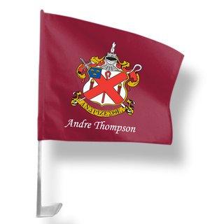 Alpha Chi Rho Car Flag