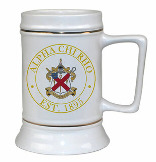 Alpha Chi Rho Ceramic Stein