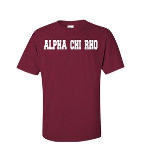 Alpha Chi Rho college tee