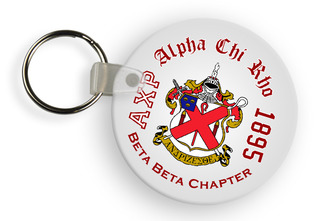 Alpha Chi Rho Color Keychains